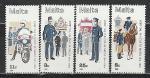 Мальта 1984 год, 100 лет Полиции Мальты, 4 марки.