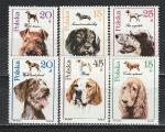 Польша 1989 год, Собаки, 6 марок