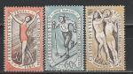 Спартакиада, ЧССР 1960, 3 гаш. марки