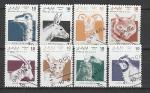 Сахара 1992 г, Стандарт, Фауна, 8 гашёных марок