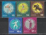 Спорт, ГДР 1965, 5 гаш. марок