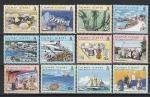 500 лет Открытия Каймановых Островов, Кайманы 2003 год, 12 марок + малый лист