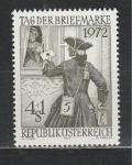 Австрия 1972 г, Доставка Письма, 1 марка.