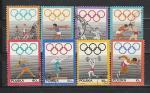 50 лет Олимпийскому Комитету, Польша 1969 год, 8 гашеных марок