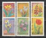 Узбекистан 1993 год, Цветы, 6 марок