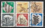 Палеонтологические Находки, ГДР 1973, 6 гаш. марок