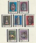 Ювелирные Изделия, Монголия 1974 год, 7 гашёных марок