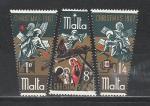 Мальта 1967 год, Рождество, 3 марки.