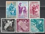 Мальта 1960 год, Свят. Павел, 6 марок