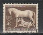 Рейх 1944 год, Лошадь с Жеребенком, 1 гашёная марка.