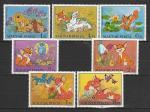 Мультфильмы, Венгрия 1982 г, 7 марок. (