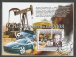 Гвинея 2008 год, Ф. Порше, Автомобиль, 1 гашеный  блок .
