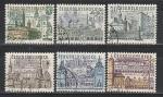 Строения, ЧССР 1965 г, 6 гашёных марок без концовки