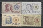 200 лет Театру в Кракове, Польша 1981 год, 4 гашеных марки