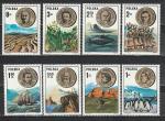 Известные Ученые, Исследователи, Польша 1973 год, 8 марок