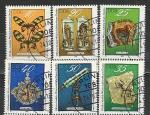 Экспонаты Музея в Дрездене, ГДР 1978 год, 6 гашёных марок
