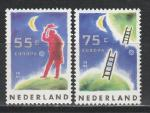 Европа, Космос, Нидерланды 1991 год, 2 марки