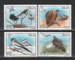 Птицы, Италия 1995 г, 4 марки. (нар