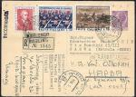 ПК Заказная почта 1964 год. Италия- СССР, Нарва.