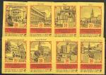 Набор спичечных этикеток. 30 лет освобождения Риги. 1975 г. 8 шт.