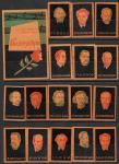 Набор спичечных этикеток. Русские и советские композиторы. 1960 год. 18 шт
