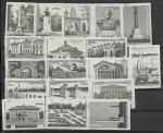 Набор спичечных этикеток. Памятники и архитектура г. Калуги. 1962 год. 18 шт