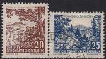 ГДР 1961 год. Ландшафты. 2 гашёные марки