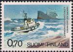 Финляндия 1975 год. Морское спасательное общество. 1 марка