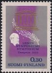 Финляндия 1970 год. Ленин. Симпозиум ЮНЕСКО. 1 марка