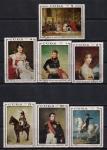 Куба 1969 год. Картины из музея Наполеона в Гаване. 7 гашеных марок