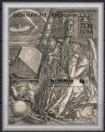 Монголия 1978 г. 450 лет со дня смерти художника Альбрехта Дюрера, блок