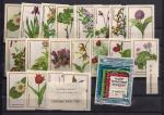 Набор спичечных этикеток № 15. Природная флора СССР