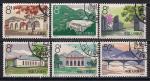 Китай. КНР 1964 год. Памятные места революции. 6 гашеных марок