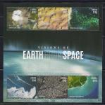 Либерия 2015 год. Вид Земли из космоса. 1 блок