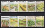 Руанда 1983 год. Борьба с эрозией почвы. 10 марок