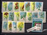 Набор спичечных этикеток № 1. Дикорастущие растения
