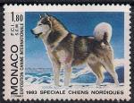 Монако 1983 год. Всемирная выставка собак. 1 марка