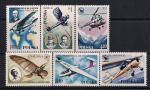 Польша 1978 год. Польская авиация. Самолеты и вертолеты. 6 марок
