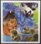Беларусь 2004 год. Кошки. 1 блок без зубцов