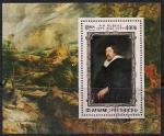 КНДР 1978 год. 400 лет со дня рождения художника Рубенса. Гашеный блок