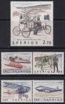 Швеция 1984 год. История шведской авиации. 5 марок