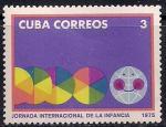 Куба 1975 год. Международный день ребенка. Марка