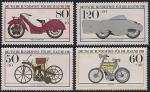 ФРГ 1983 год. История развития мотоциклов. 4 марки