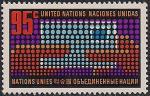 ООН (Нью-Йорк) 1974 год. День письма. 1 марка