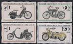 ФРГ. Берлин 1983 год. Старые мотоциклы. 4 марки