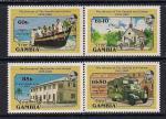 Гамбия 1985 год. 50 лет дружбы Гамбии и Гвинеи. 4 марки