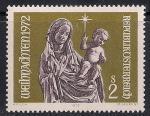 Австрия 1972 год. Мадонна с младенцем. 1 марка