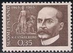 Финляндия 1965 год. 100 лет со дня рождения первого президента Финляндии К. Стальберга. 1 марка