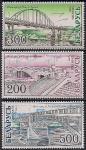 Беларусь 2002 год. Мосты Беларуси. 3 марки