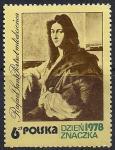"""Польша 1978 год. Рафаэль. """"Портрет молодого человека"""". 1 марка"""
